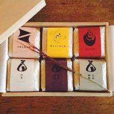 大切なあの人にも素敵なお米の #贈り物 を。パッケージがおしゃれな #お米 7選|#おうちごはん Rice Packaging, Mid Autumn, Package Design, Business Tips, Packing, Poster, Bag Packaging, Packaging Design, Design Packaging