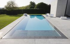 outdoor swimming pool, concrete swimming pools, infinity pool, swimming pool - Home and Garden Decoration