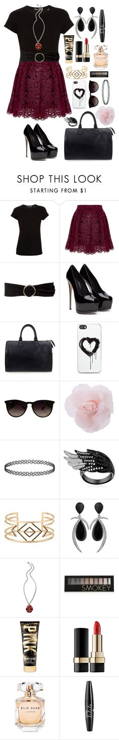 """""""Mall Outfit"""" by panda-matowi0715 ❤ liked on Polyvore featuring Vince, Alice + Olivia, MANGO, Louis Vuitton, Zero Gravity, Ray-Ban, Stella & Dot, Chanel, Forever 21 and Dolce&Gabbana"""