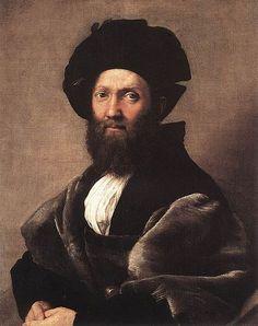Rafael: Portrait of Baldassare Castiglione, 1515