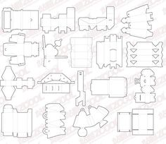 30 sets of free vector packaging design templates package design free carton box templates corrugated and folding carton box maxwellsz