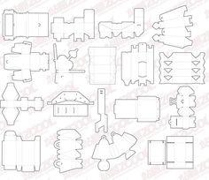 free carton box templates | Corrugated and folding carton box ...