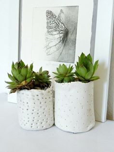 J'adore cette photo de @decofr ! Et vous ? (Source : http://www.deco.fr/photos/diaporama-20-idees-diy-customiser-pots-fleurs-d_2650)