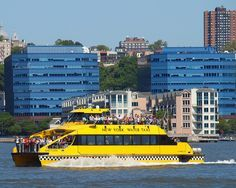 New York Water Taxi, Hudson River, New York City