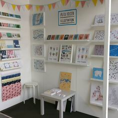 My stand at @topdrawerlondon - met some lovely people and had a great few days. One more day to go come and say hi if you're visiting!