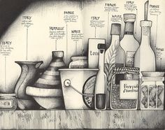 cry for a shadow by andrea joseph's illustrations, via Flickr