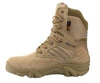 2 Color US Size 5-11 Lace Up Leather Combat Military Tactical Boots Mens Shoes
