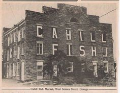 Good meals, fish at Cahill's.