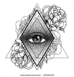 Sacred Geometry Vectors Tattoo 16