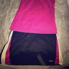 Tennis/workout outfit Never worn. Fits like XS/S IZOD Tops Tank Tops