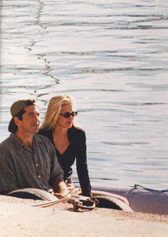 Newlyweds John F. Kennedy Jr and Carolyn Bessette on their honeymoon in Turkey, 1996.