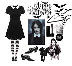 Here is Wednesday Addams Outfit Ideas for you. Wednesday Addams Outfit how to make a wednesday addams costume 5 steps. Wednesday Addams Outfit, Wednesday Adams Costume, Wednesday Addams Halloween Costume, Goth Halloween Costume, Disney Halloween Costumes, Halloween Outfits, Diy Halloween, Adornos Halloween, Halloween Disfraces