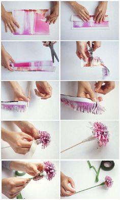 Instrukcje, które pokażą Ci jak wykonać niezywkłe kwiaty