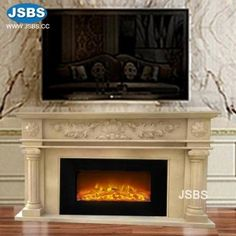 Stone Carved marble fireplace mantel Marble Fireplace Mantel, Marble Fireplaces, Fireplace Mantels, Stone Fountains, Stone Cladding, Stone Veneer, Wooden Crates, Animal Sculptures, Travertine