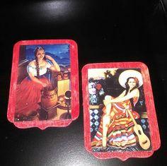 Wood Latina-beauties-magnet-set2