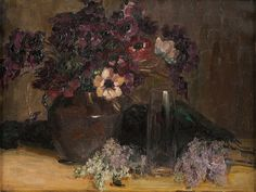 Clara Lotte von Marcard-Cucuel - Flower Still-life