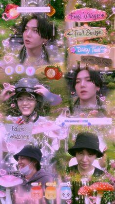 Fairy Village, Your Hair, Trail, Daisy, Twitter Header Aesthetic, Flower Braids, Kids Icon, Bts Backgrounds, Bts Lockscreen