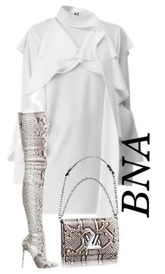 """""""BNA"""" by deborahsauveur ❤ liked on Polyvore featuring Christian Louboutin"""