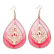 Texture Blank Bohemia Color Earrings – USD $ 4.99