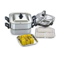 Buy Square Steamer, Idly and Dhokla Online- Shopclues.com