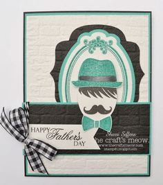 also Sweet Silhouettes and Sweet Sentiments Mustache Birthday, Happy Father, Stamp, Let It Be, Silhouettes, Sweet, Madness, Face, Cards