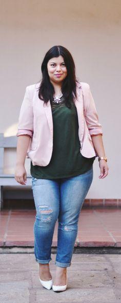 Wear olive with pink! Feat. #AVAandVIV plus sizes via #TargetStyle @target #spon