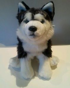 Webkinz Signature Siberian Husky No Code Plush Only EUC
