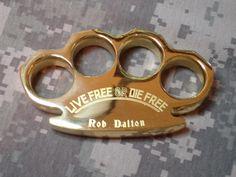 "Key West Knife Works - ""Luck of the Irish"" Heavy Duty Polished 100% Natural Brass Knuckle Paperweight By: Dalton Global, $39.95 (http://www.keywestknifeworks.com/luck-of-the-irish-heavy-duty-polished-100-natural-brass-knuckle-paperweight-by-dalton-global/)"