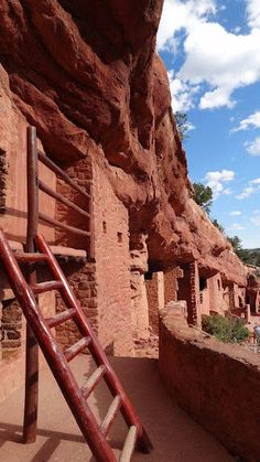 Manitou Cliff Dwellings in Manitou Springs right outside of Colorado Springs.