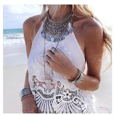 A white summer top