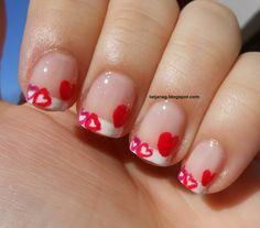V-day nail art II.