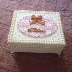 Caixa para tiaras da princesa…