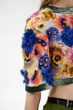 ❤️ details @ Chanel Spring 2015 Couture