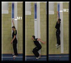 testsaltovertical-procesosalto Vertical Jump Test, Strong Hand, Defensive Back, Nba Draft, High Jump, Bench Press, Big Men, Rebounding, Comfortable Outfits