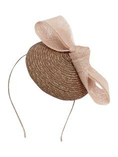 Untold Bow pillbox fascinator - Hats - Accessories - Women