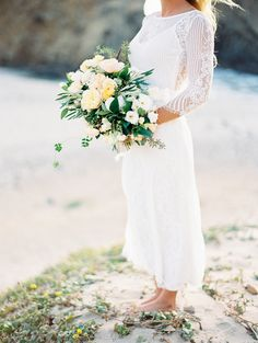 Casual + Boho California wedding elopement: Photography: Winsome  + Wright - http://winsomeandwright.com/