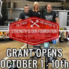TOMORROW Thanks to AJ from Fork and Hose Co. our next Strength is Our Foundation Grant is Opening TOMORROW!!!!!!!!!!!! (SHARE WITH EVERY FIREFIGHTER YOU KNOW)  This grant will feature fitness equipment in addition to even more hook-ups from AJ's partners and favorite products/foods. (LINK IN PROFILE)  We are looking for fire departments that believe in the importance of physical fitness and nutrition to keep their members healthy and well.  Whether group workouts monthly meeting that feature…