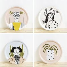 Products Archive - Depeapa - Hobbies paining body for kids and adult Pottery Painting Designs, Pottery Designs, Paint Designs, Ceramic Cafe, Ceramic Plates, Ceramic Pottery, Painted Plates, Plates On Wall, Hand Painted