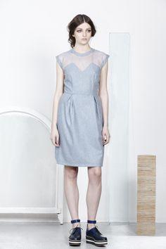 Kuwaii AW14 'Palladian' Collection  ASTRA dress  kuwaii.com.au/shop/pre-orders