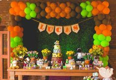 Safari Party, Jungle Party, Jungle Safari, Jungle Theme, Lion King Party, Lion King Birthday, Dinosaur Birthday, Party Kulissen, Party Ideas