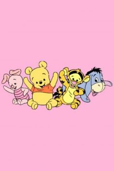 Download Happy Baby Pooh and Friends Wallpaper   CellularNews