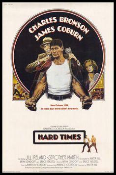 Hard Times FRIDGE MAGNET 6x8 Charles Bronson Movie Poster Canvas Print