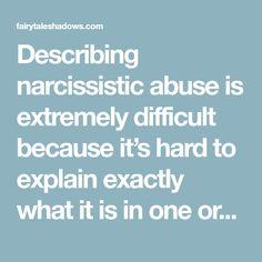 Malignant narcissism explained
