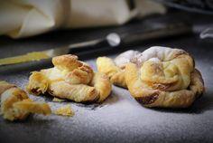 Mandelschnecken - Ein dish up Rezept Blitz, Garlic, Dishes, Vegetables, Food, Powdered Sugar, Almonds, Snails, Bakken