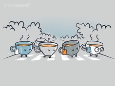 Let it tea - Happy drawings :)