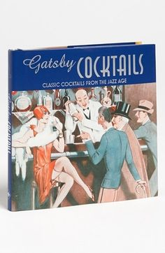 'Gatsby Cocktails' Recipe Book $9.95 by nordstrom