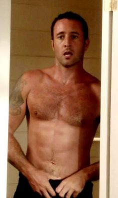 Alex O'Loughlin love watching him on Friday nights Hawaii Five-O