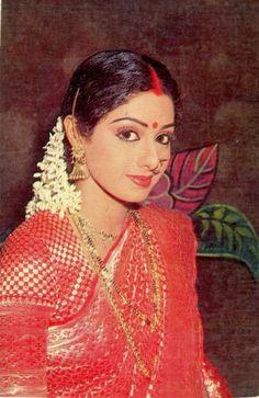 Retro Bollywood. Sridevi.