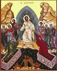 Resurrection of Jesus Christ - Hand painted Byzantine Icon on wood 22 karat Religious Icons, Religious Art, Religious Images, Religious Education, Orthodox Easter, Greek Easter, Christ Is Risen, Jesus Resurrection, Byzantine Icons