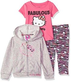 Hello Kitty Hoodie, Hello Kitty Clothes, Hello Kitty Baby, Toddler Flower Girl Dresses, White Flower Girl Dresses, Disney Baby Clothes, Slippers For Girls, Girls Jeans, Shirt Style
